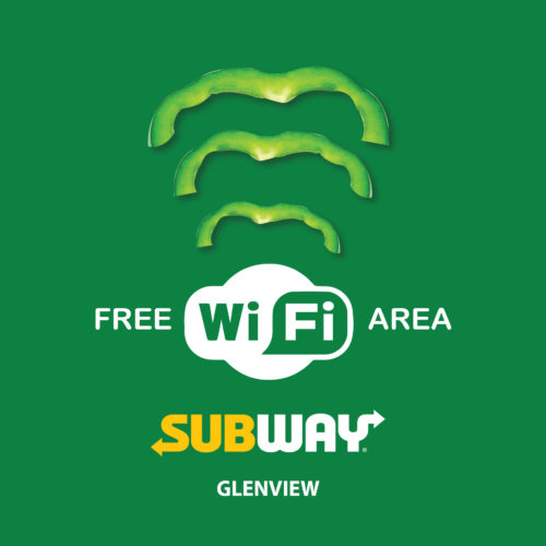 Free wifi area Steve Irwin Way. BP Petrol Station